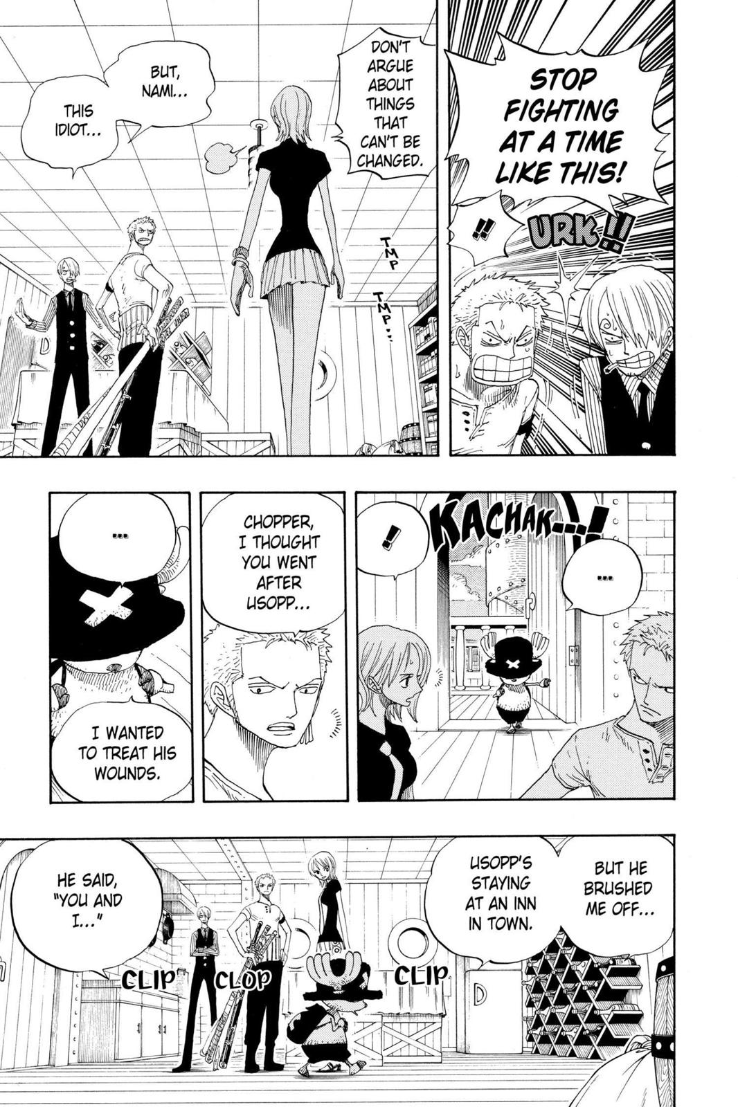 One Piece, Chapter 332 image 005
