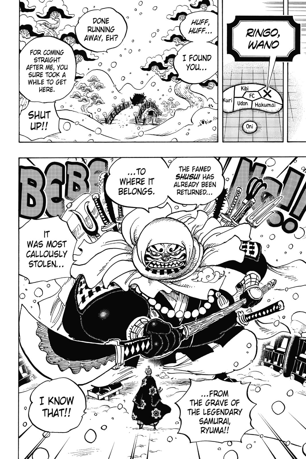 One Piece, Chapter 936 image 016