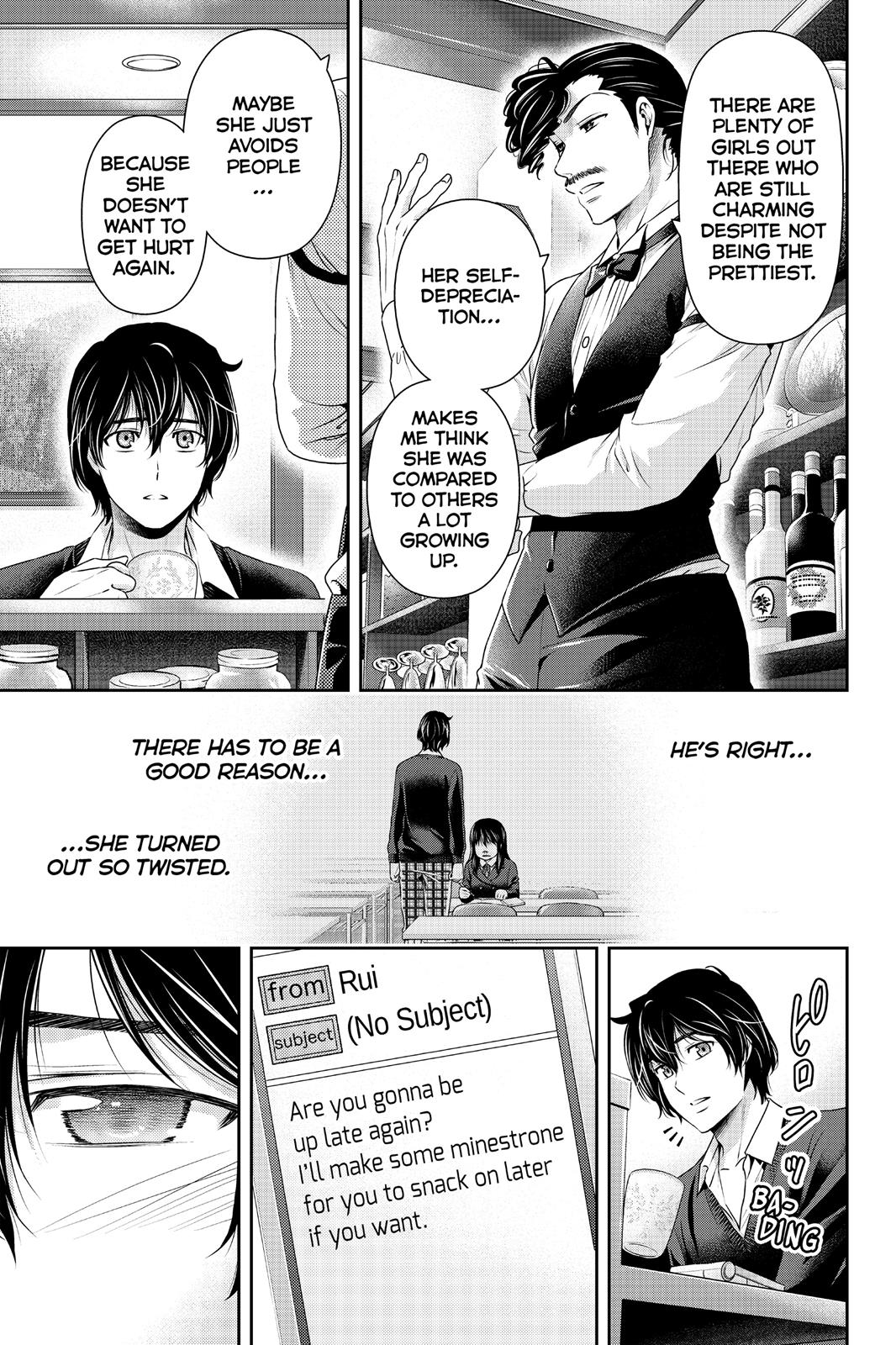 Domestic Na Kanojo, Chapter 120 image 015