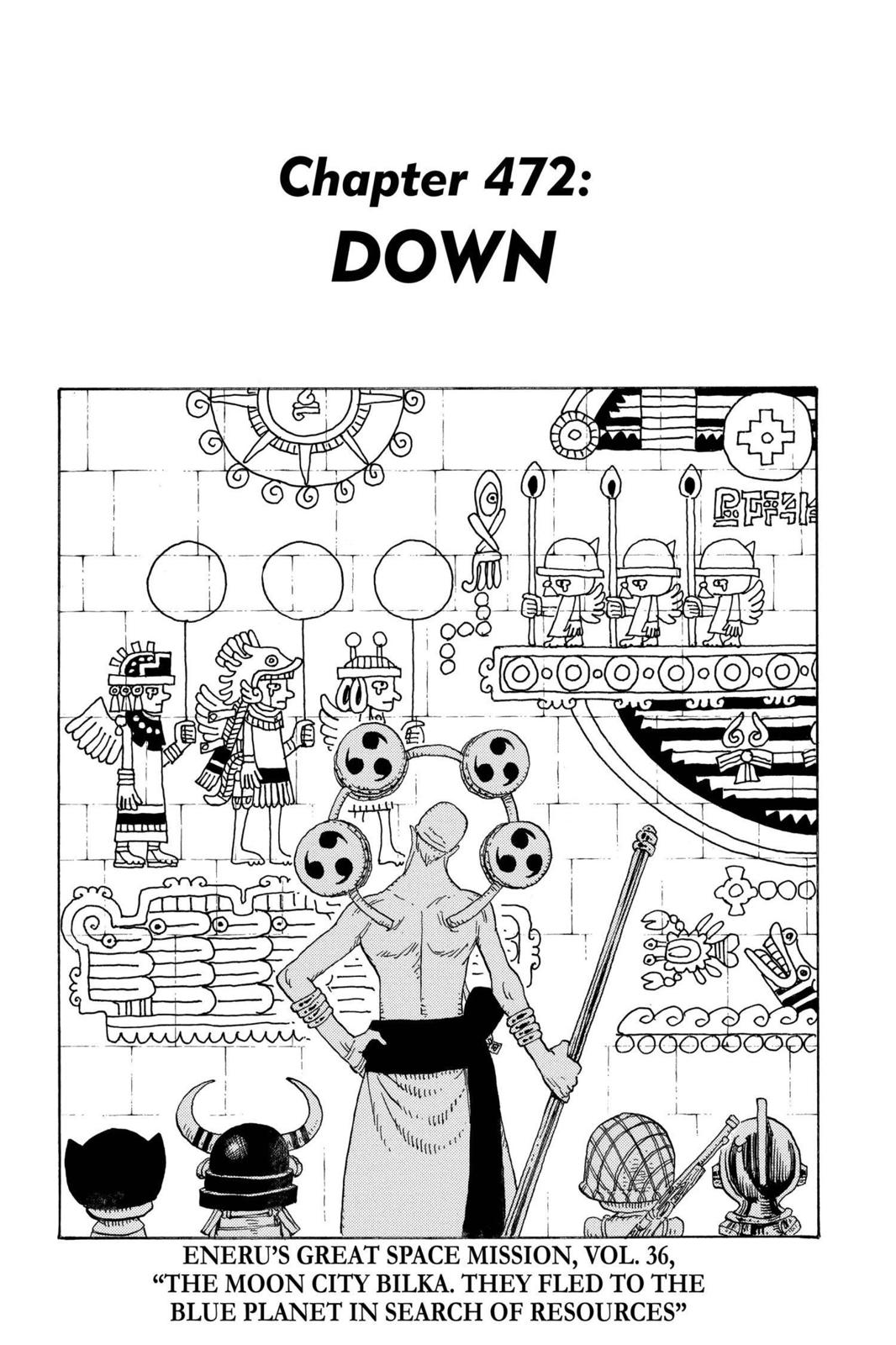 One Piece, Chapter 472 image 001