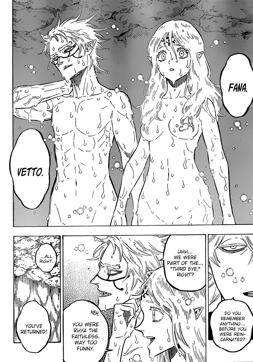 Black Clover, Chapter 182 The Followers of Sephirah image 003