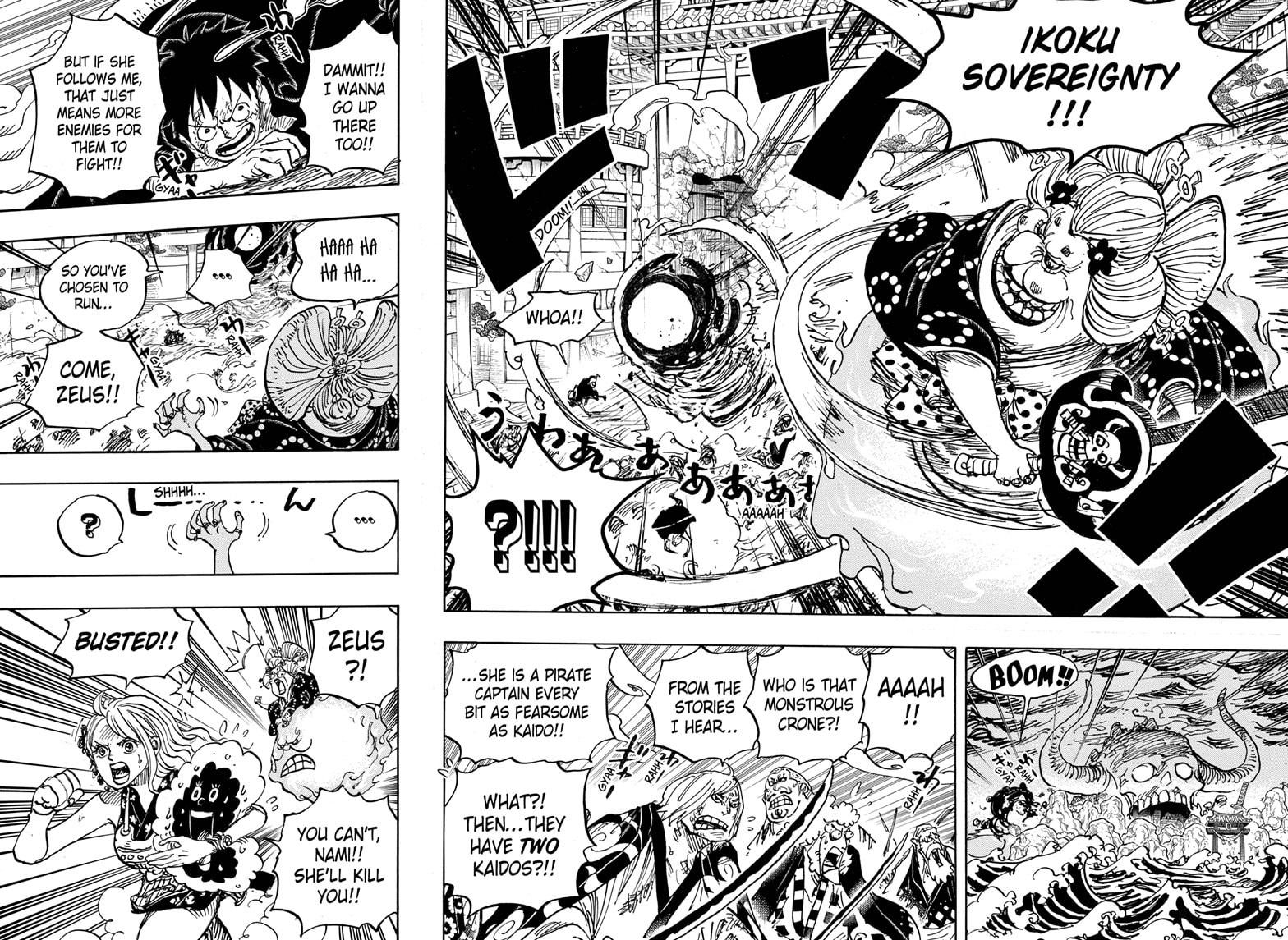 One Piece, Chapter 988 image 011