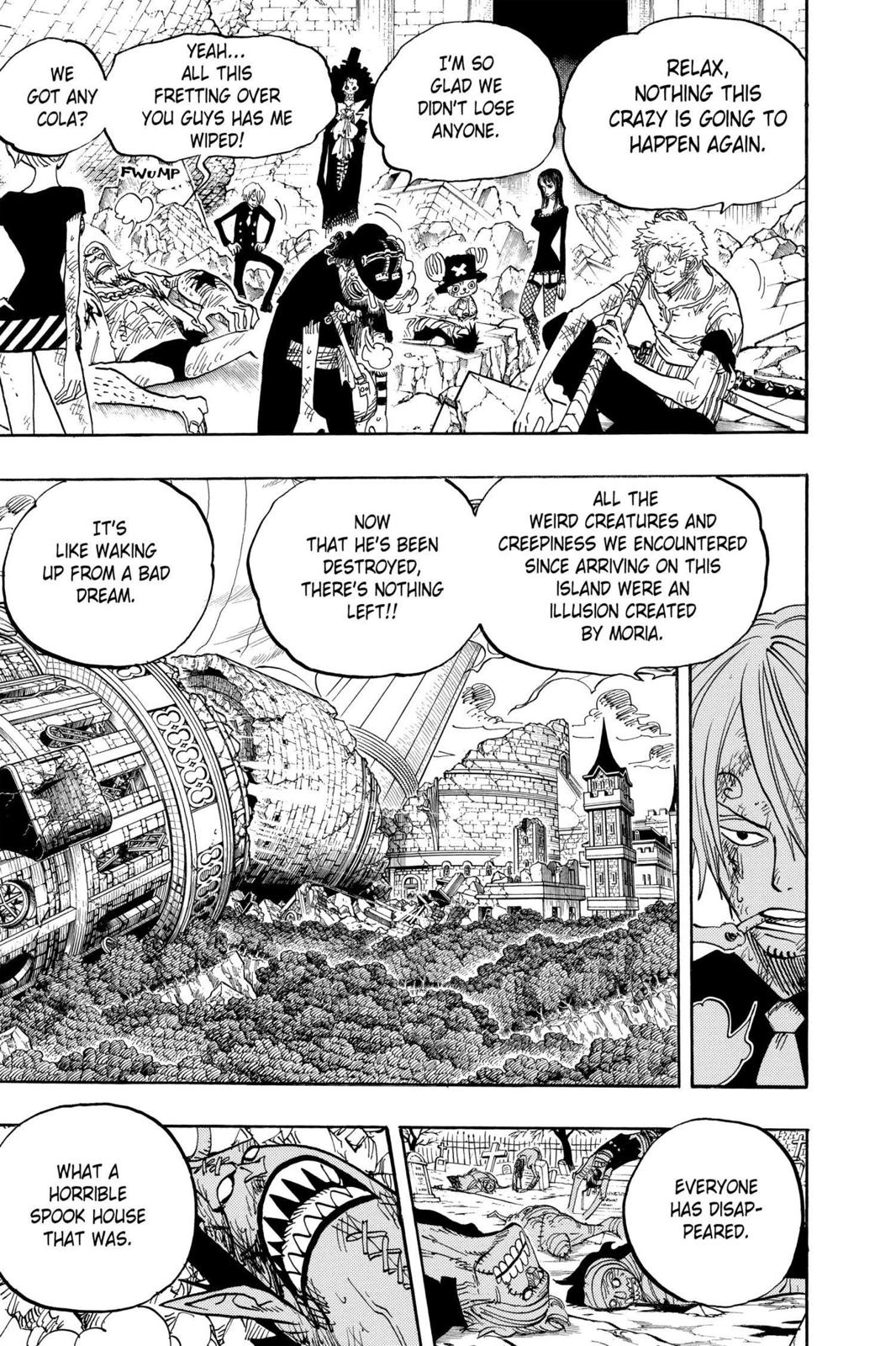 One Piece, Chapter 483 image 009