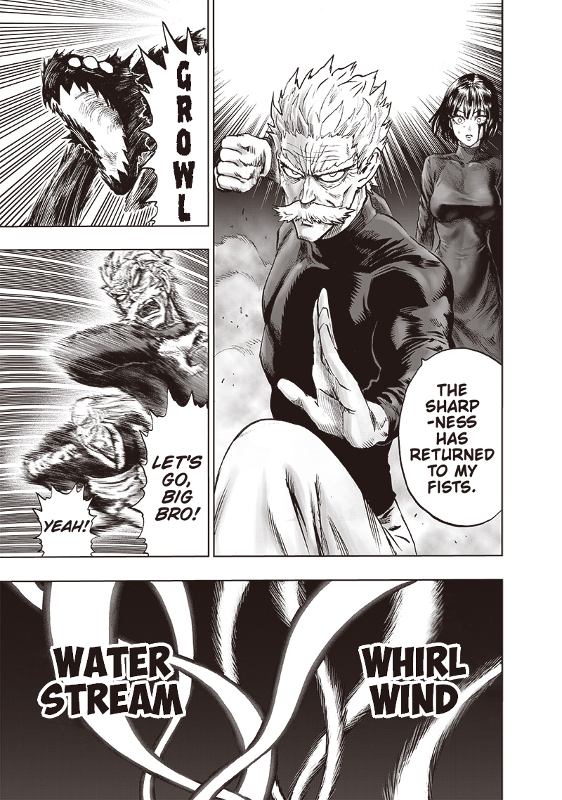 One Punch Man, Chapter One-Punch Man 124 image 016