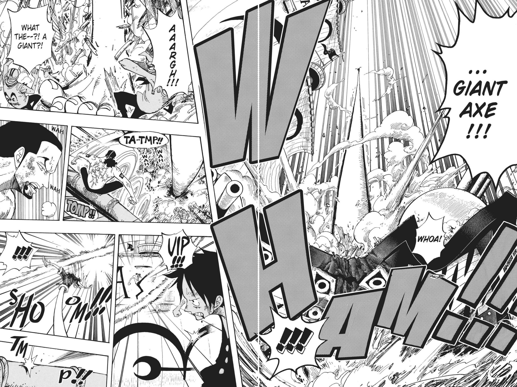 One Piece, Chapter 422 image 012