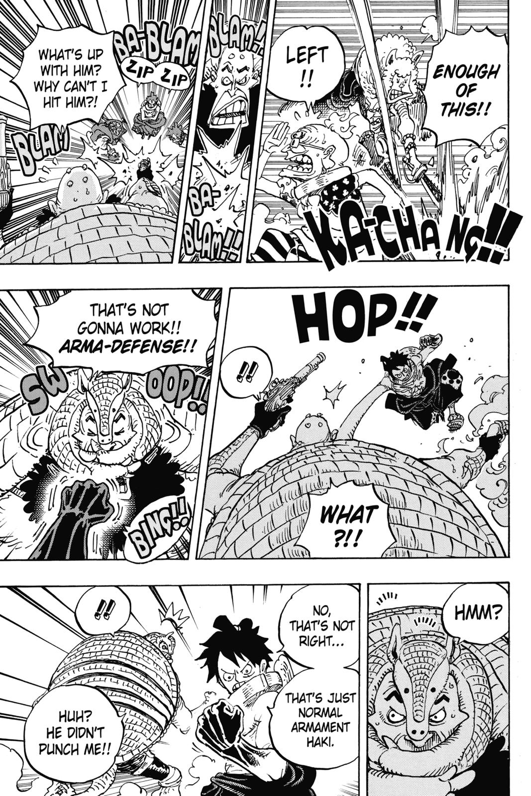 One Piece, Chapter 939 image 012