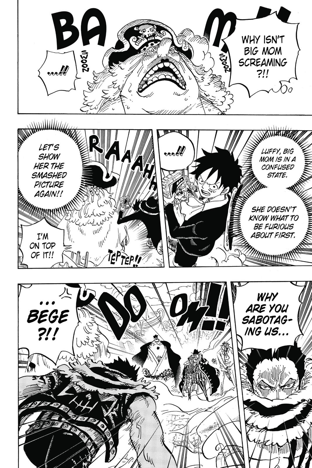 One Piece, Chapter 865 image 004