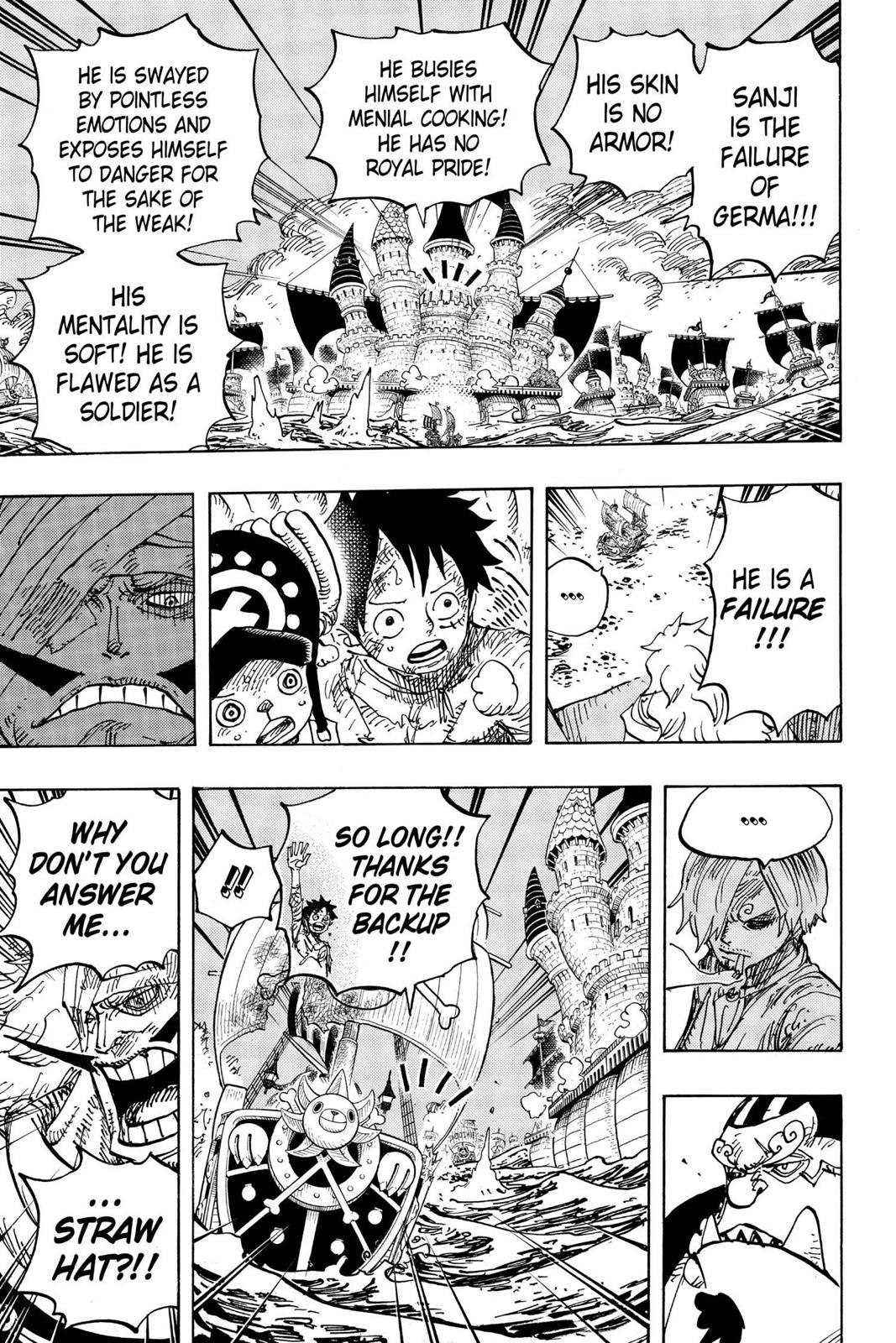 One Piece, Chapter 899 image 011