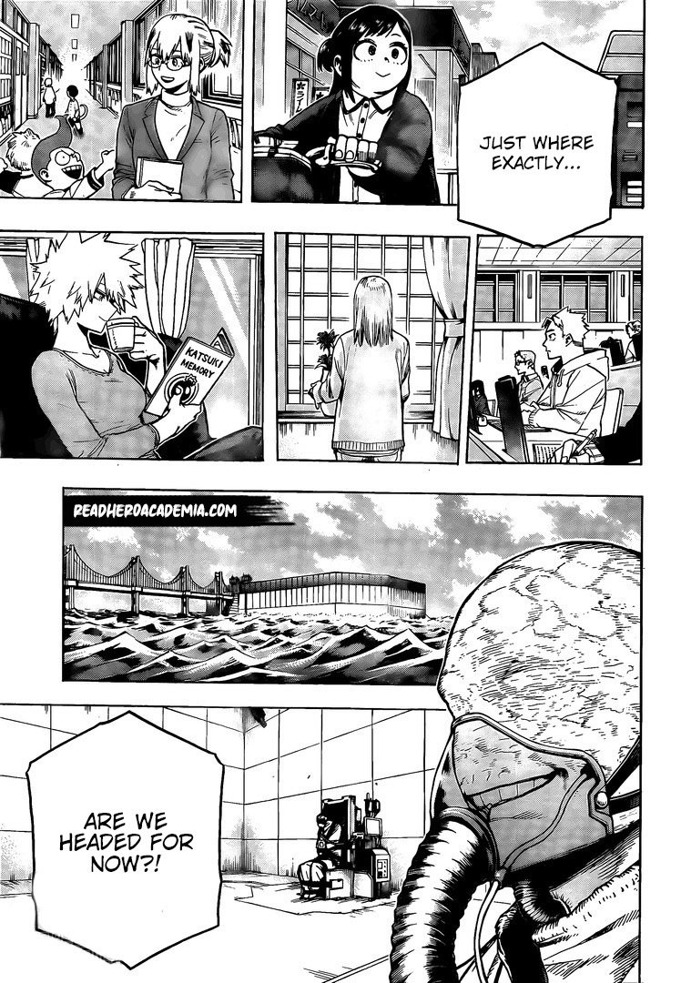 My Hero Academia, Chapter 276 image 003