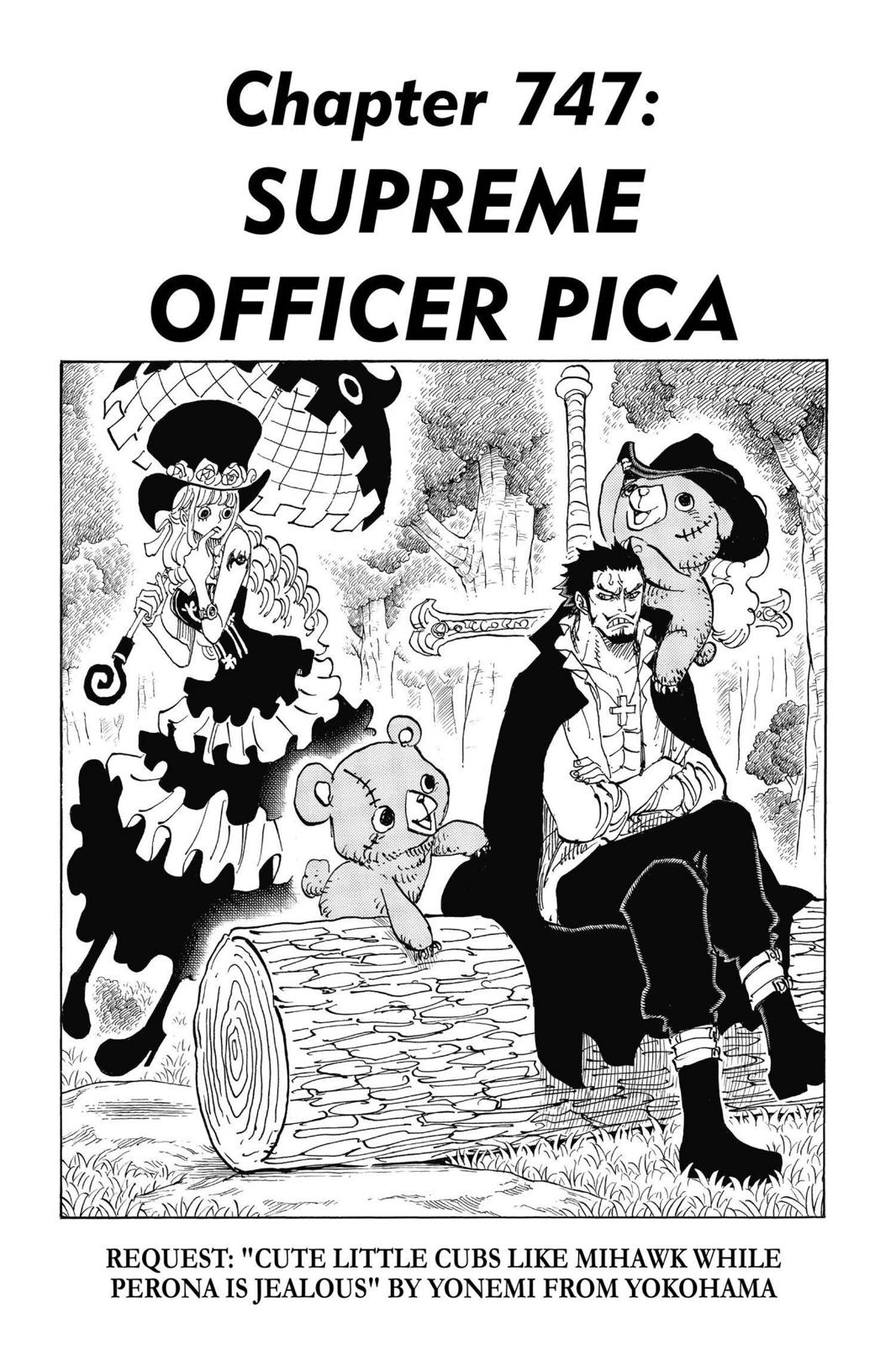 One Piece, Chapter 747 image 001