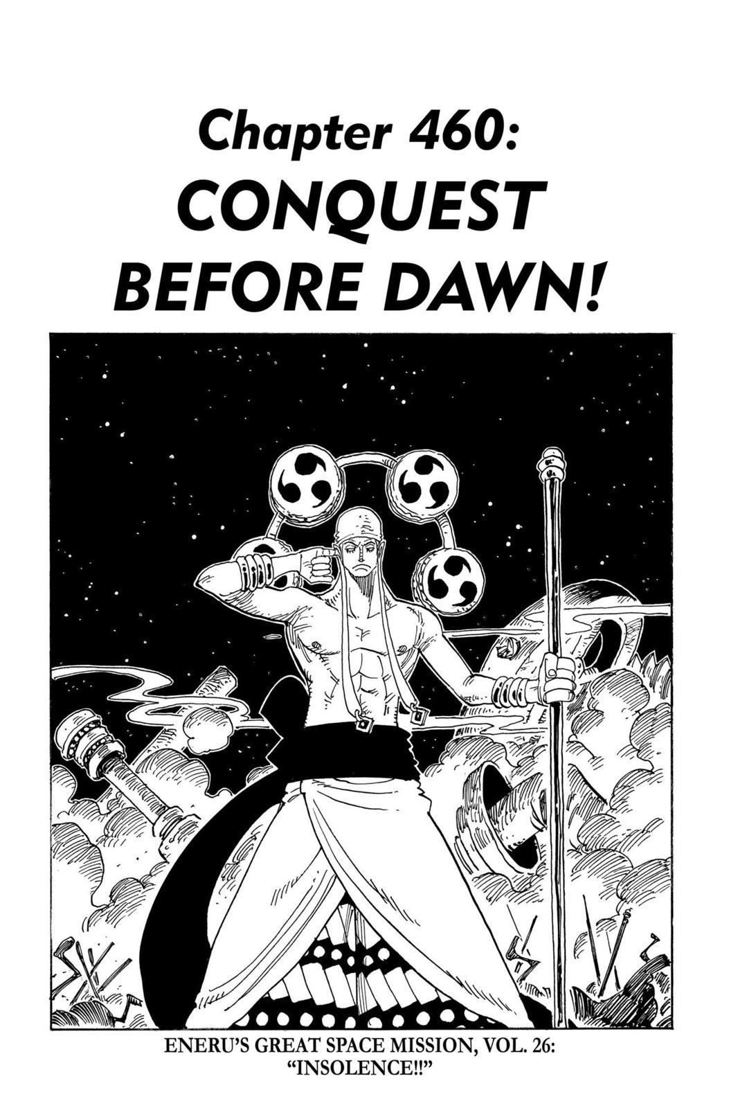 One Piece, Chapter 460 image 007