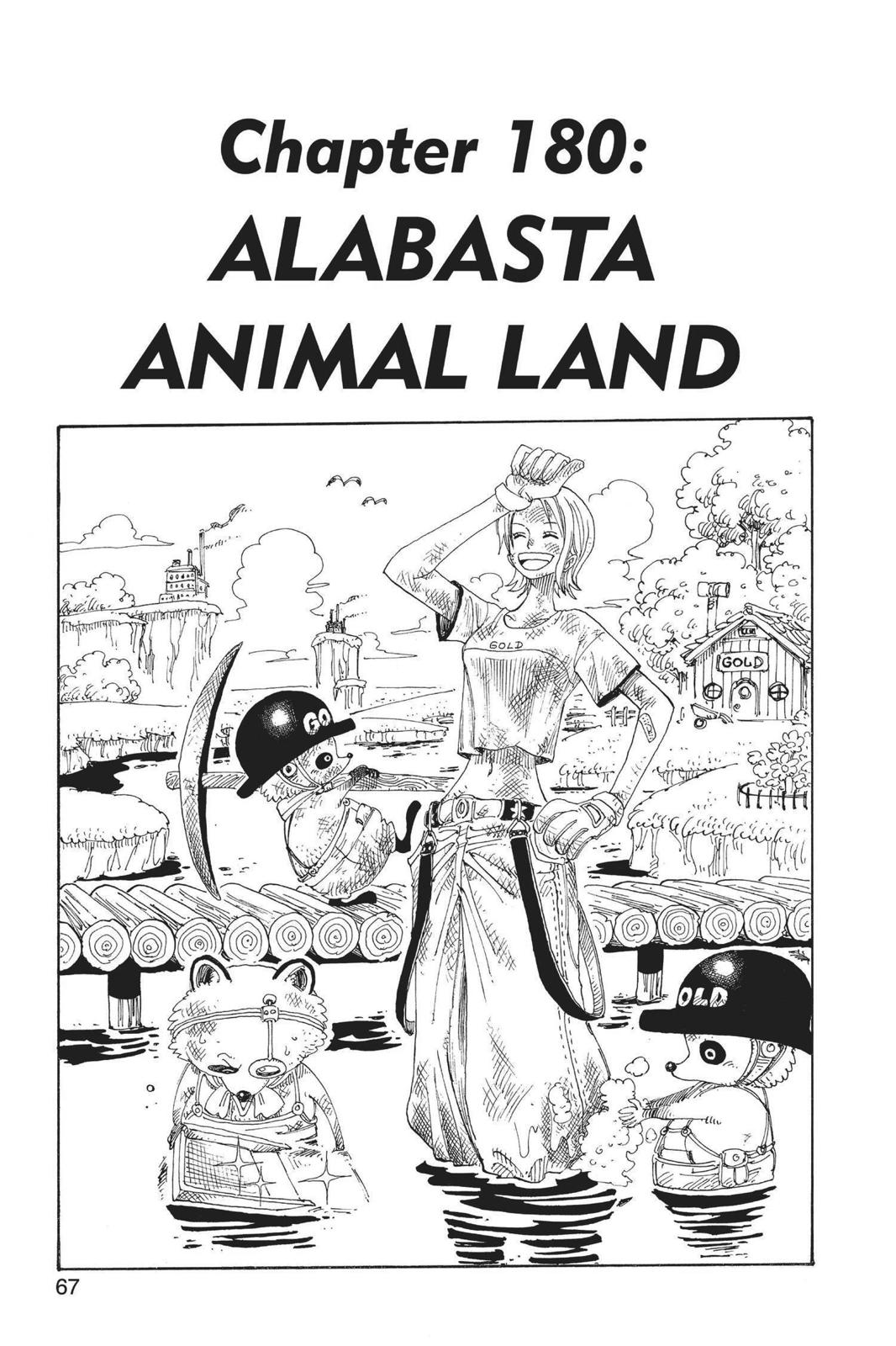 One Piece, Chapter 180 image 001