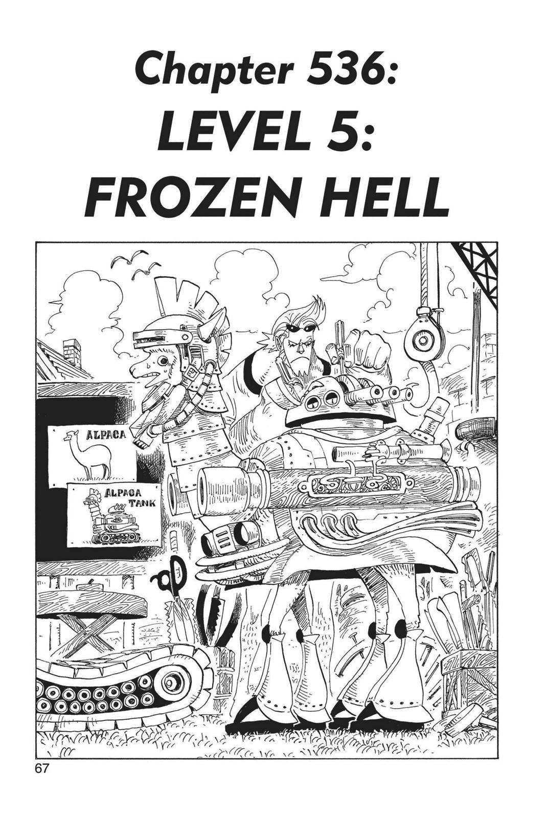 One Piece, Chapter 536 image 001