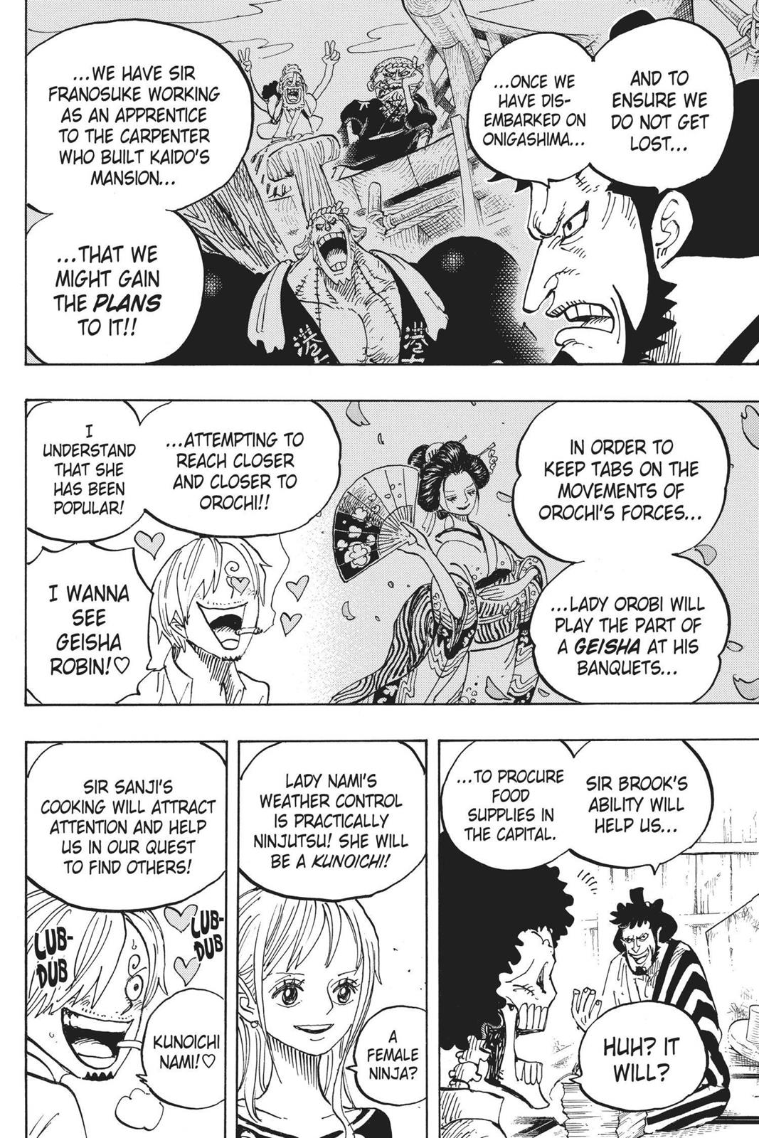 One Piece, Chapter 921 image 006