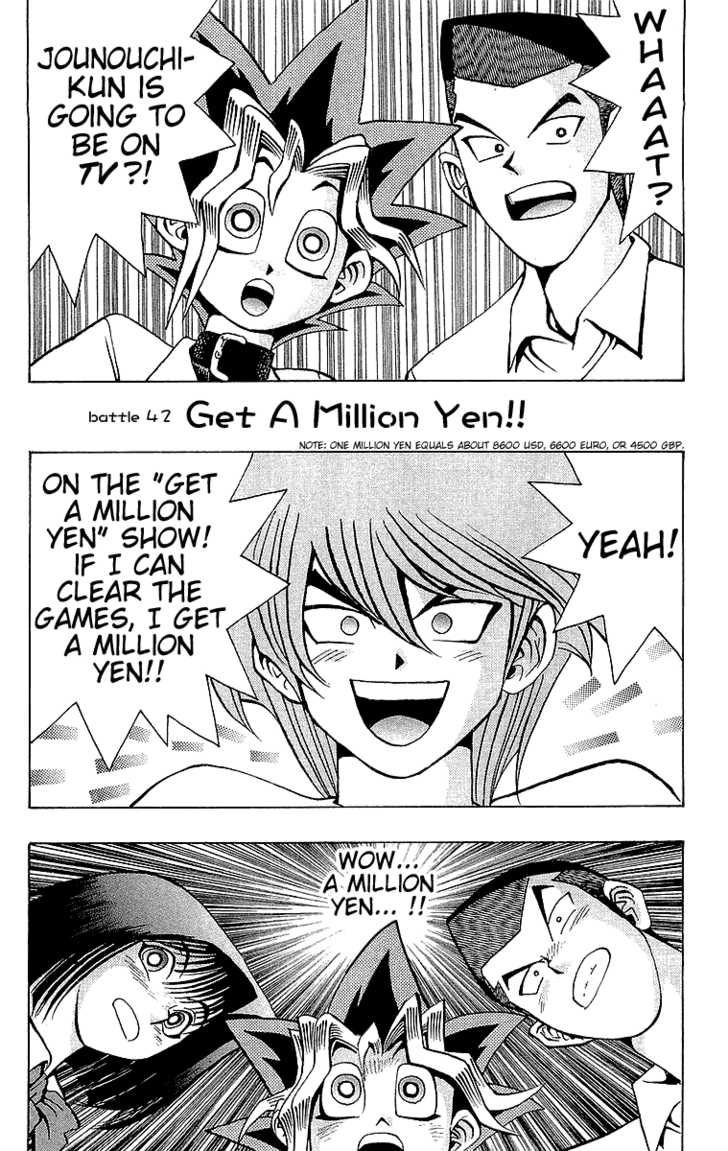 Yu Gi Oh, Chapter Vol.05 Ch.042 - Get A Million Yet!! image 002