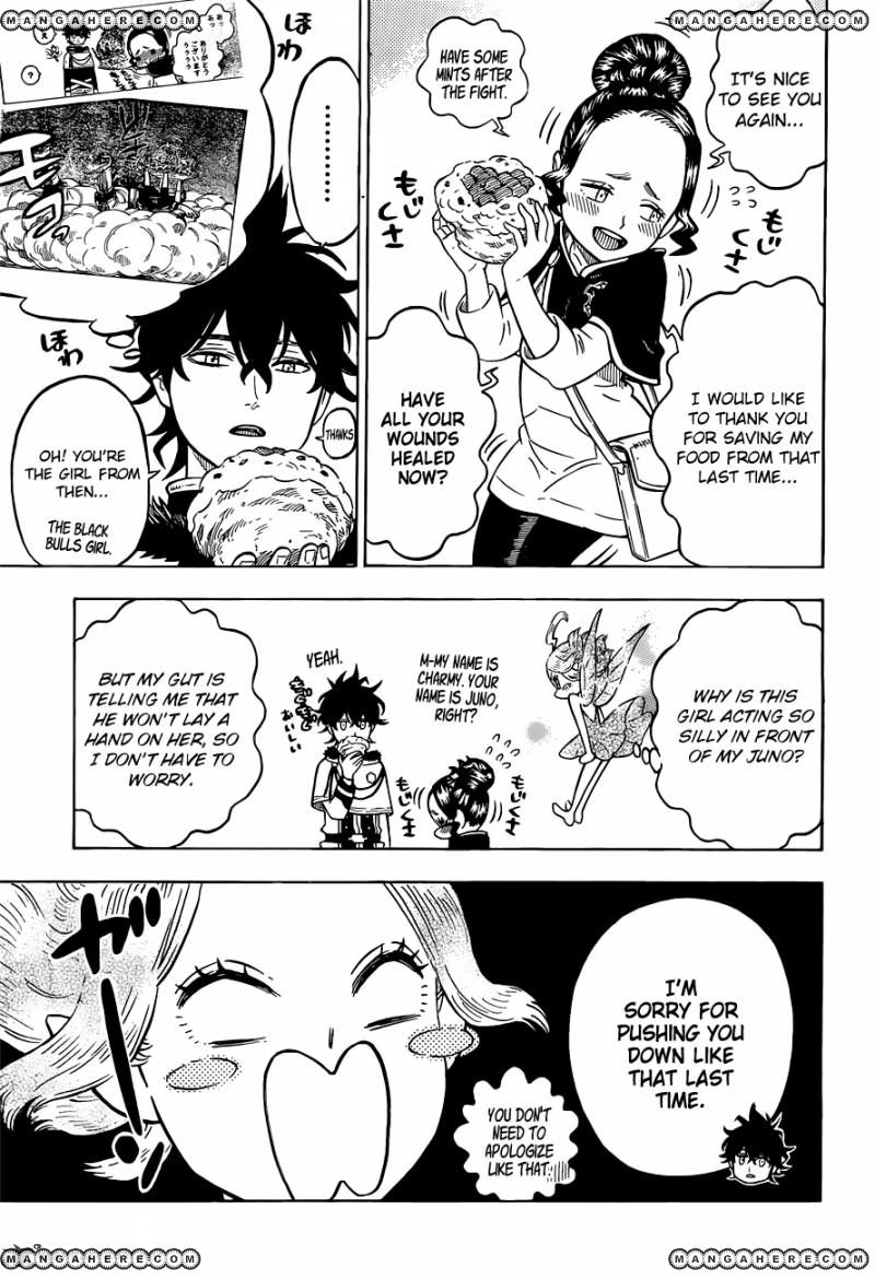 Black Clover, Chapter 78 The Weak's Proclamation image 004