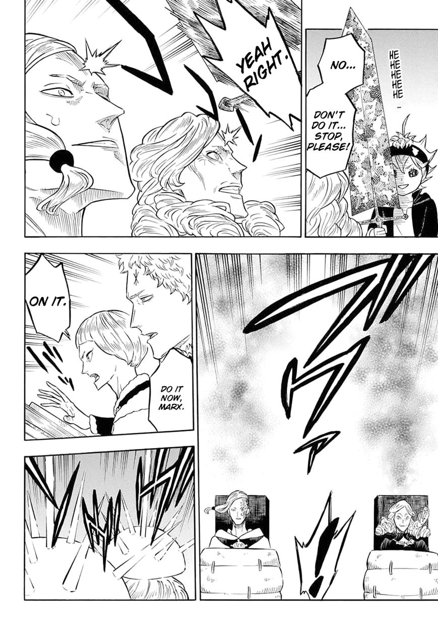 Black Clover, Chapter 54 A meeting of the magic knight captains image 005