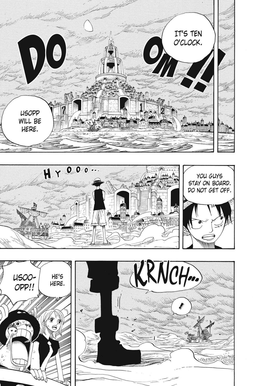 One Piece, Chapter 332 image 007