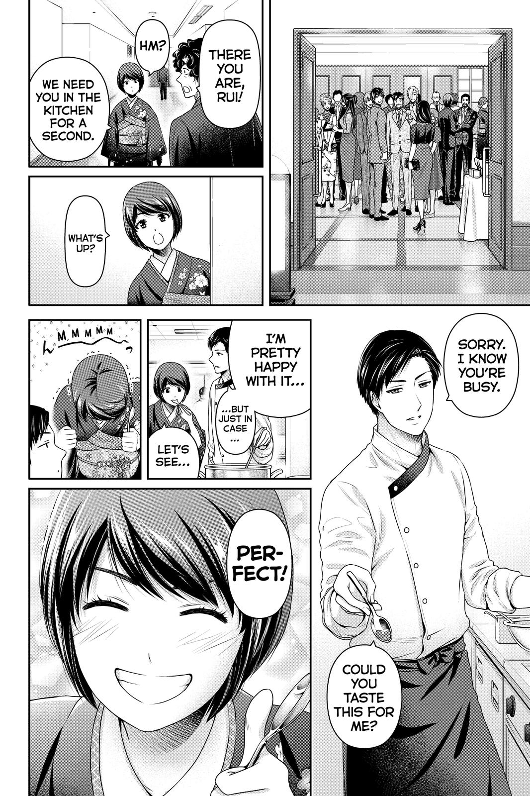 Domestic Na Kanojo, Chapter 276 image 009