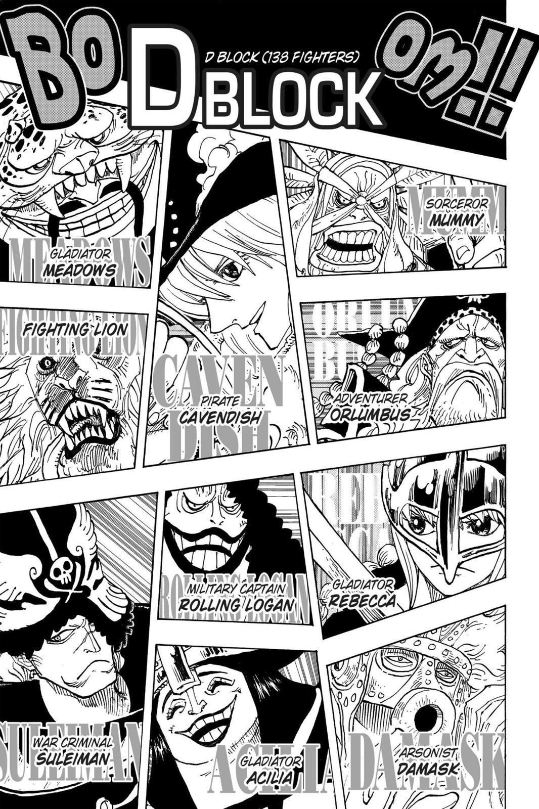One Piece, Chapter 706 image 011