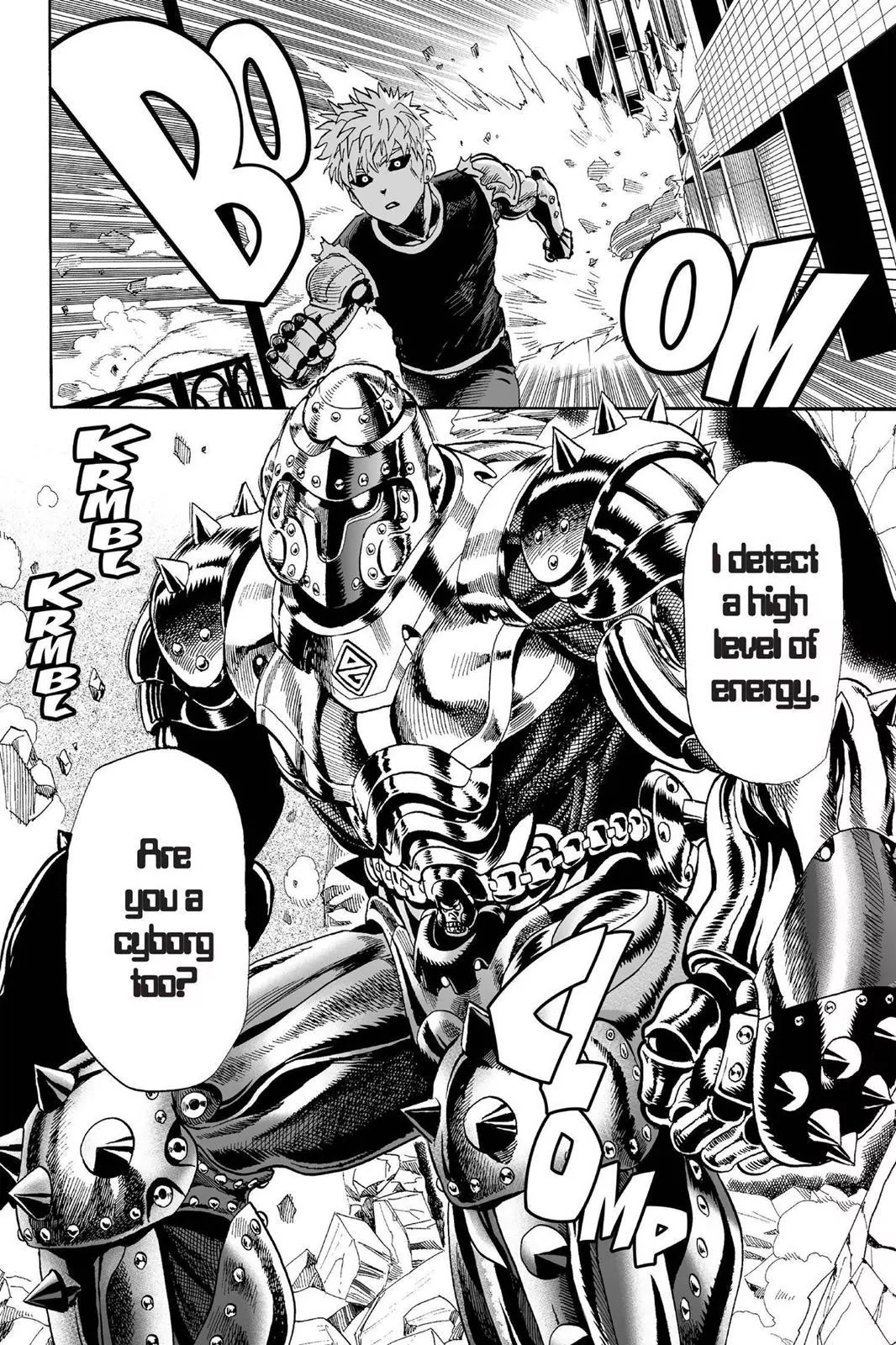 One Punch Man, Chapter Onepunch-Man 7 image 016