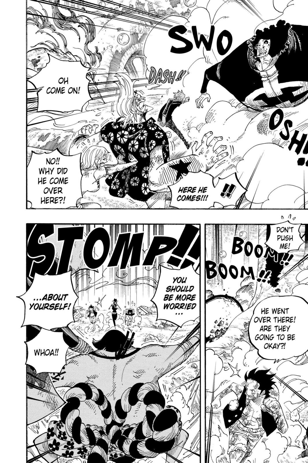 One Piece, Chapter 511 image 011