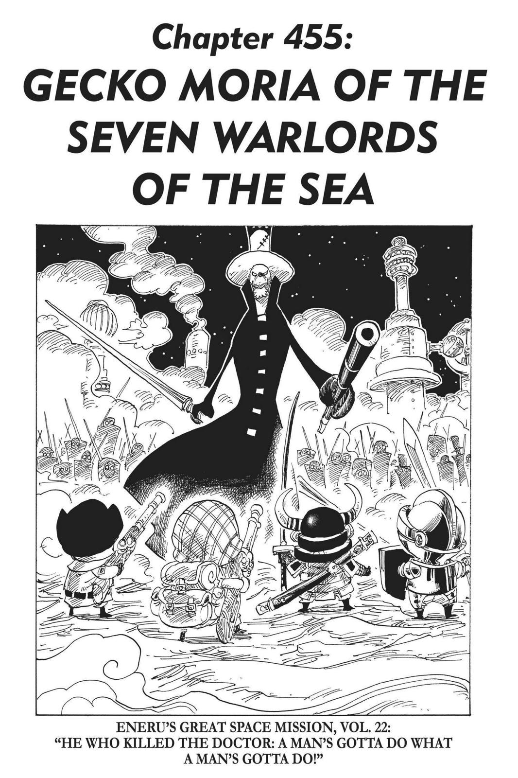 One Piece, Chapter 455 image 001