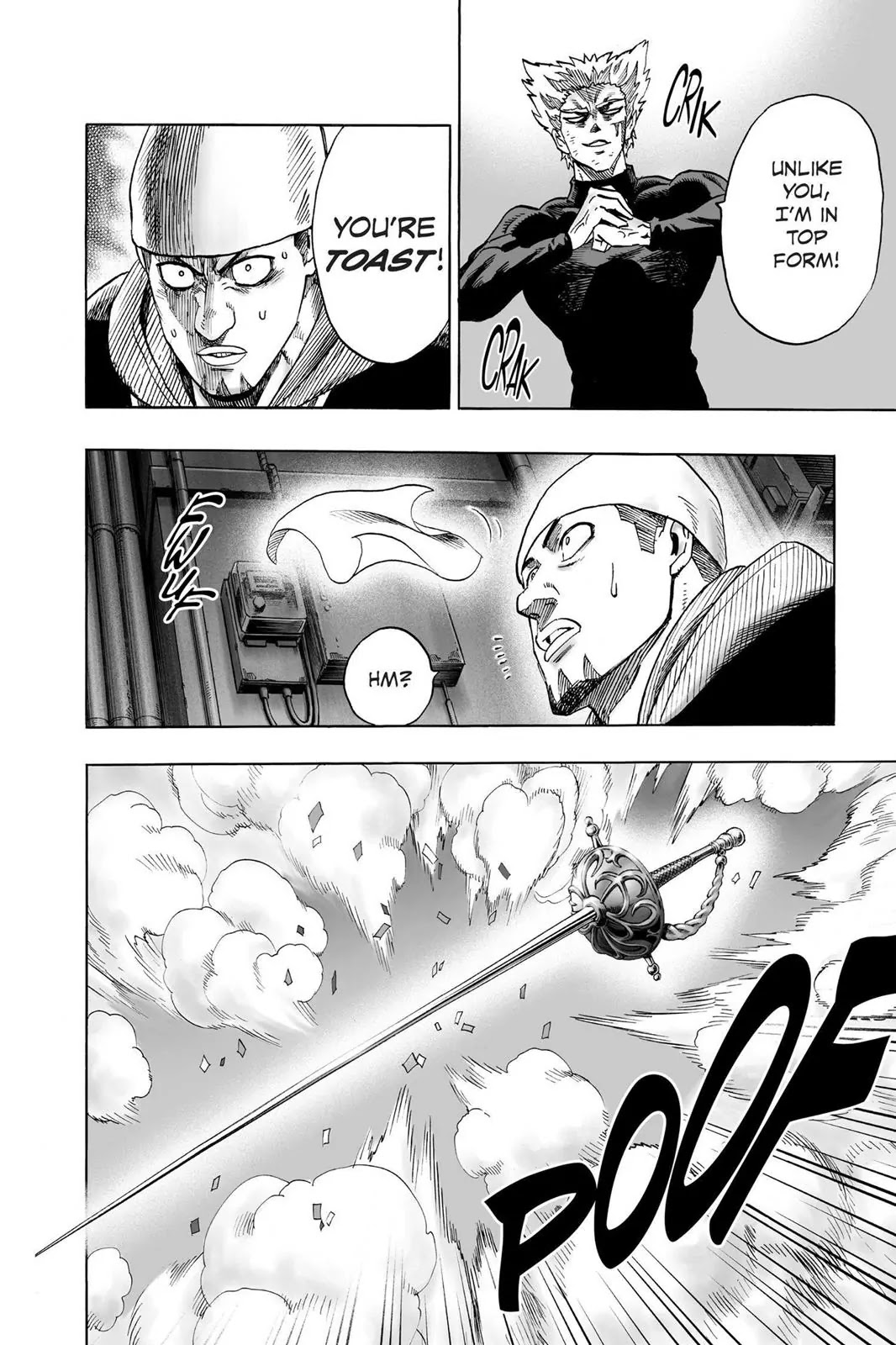 One Punch Man, Chapter Onepunch-Man 50 image 015