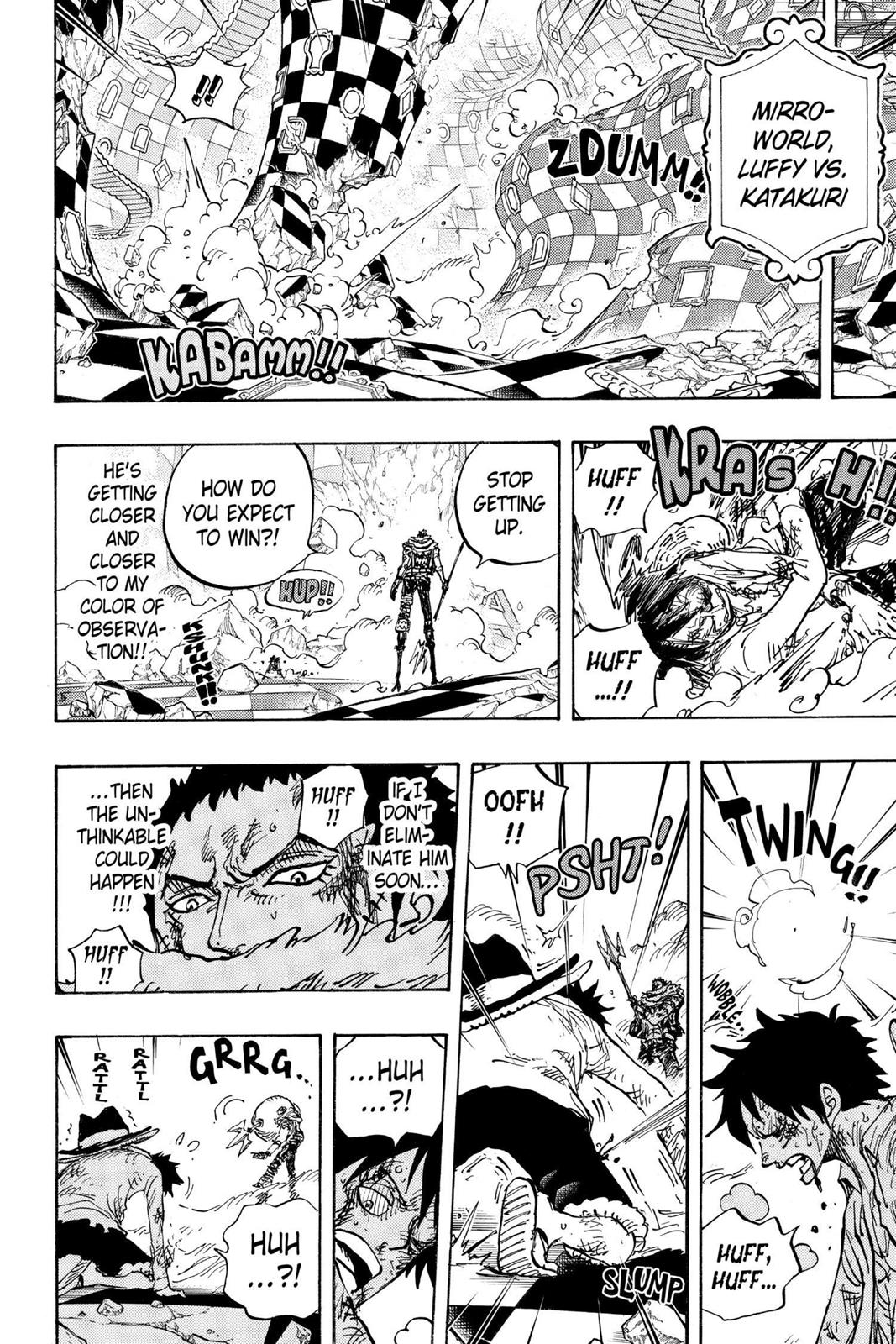 One Piece, Chapter 892 image 015