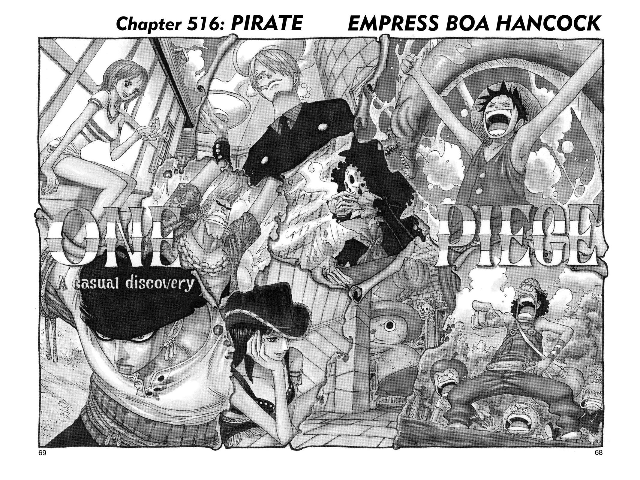 One Piece, Chapter 516 image 001