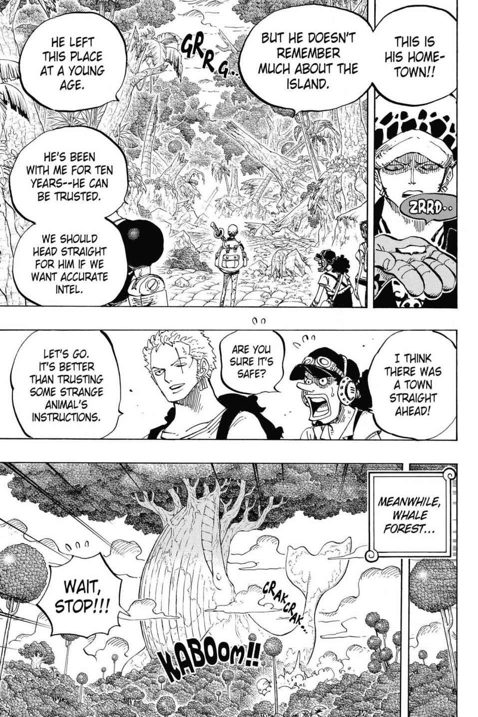 One Piece, Chapter 805 image 007