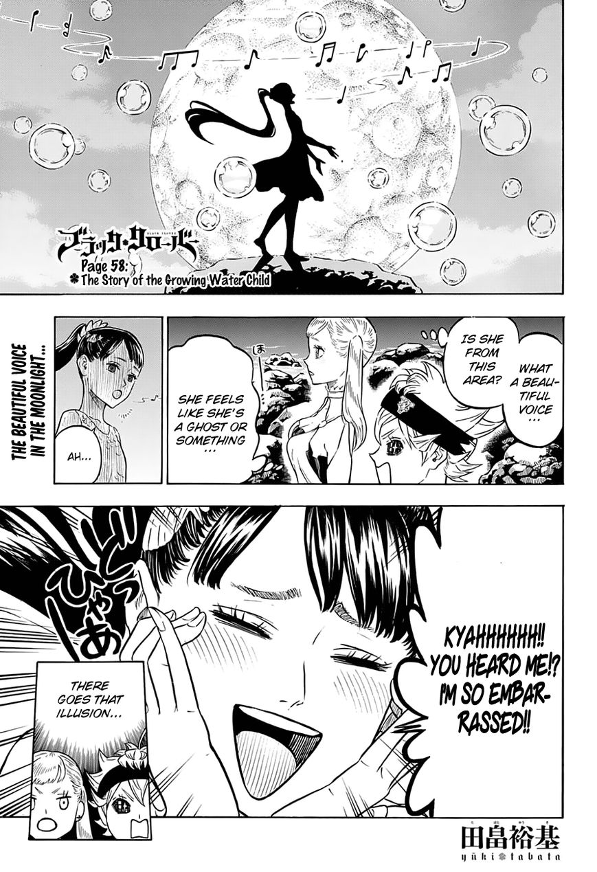 Black Clover, Chapter 58 The story of the growing Water Child image 002