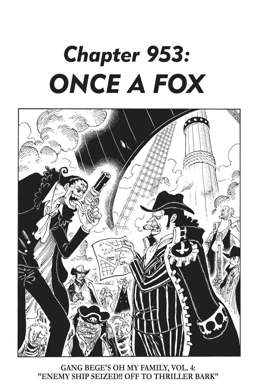 One Piece, Chapter 953 image 001