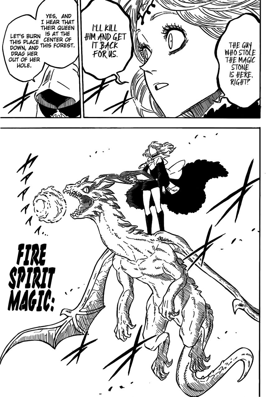 Black Clover, Chapter 84 Decision at the Battlefield image 007