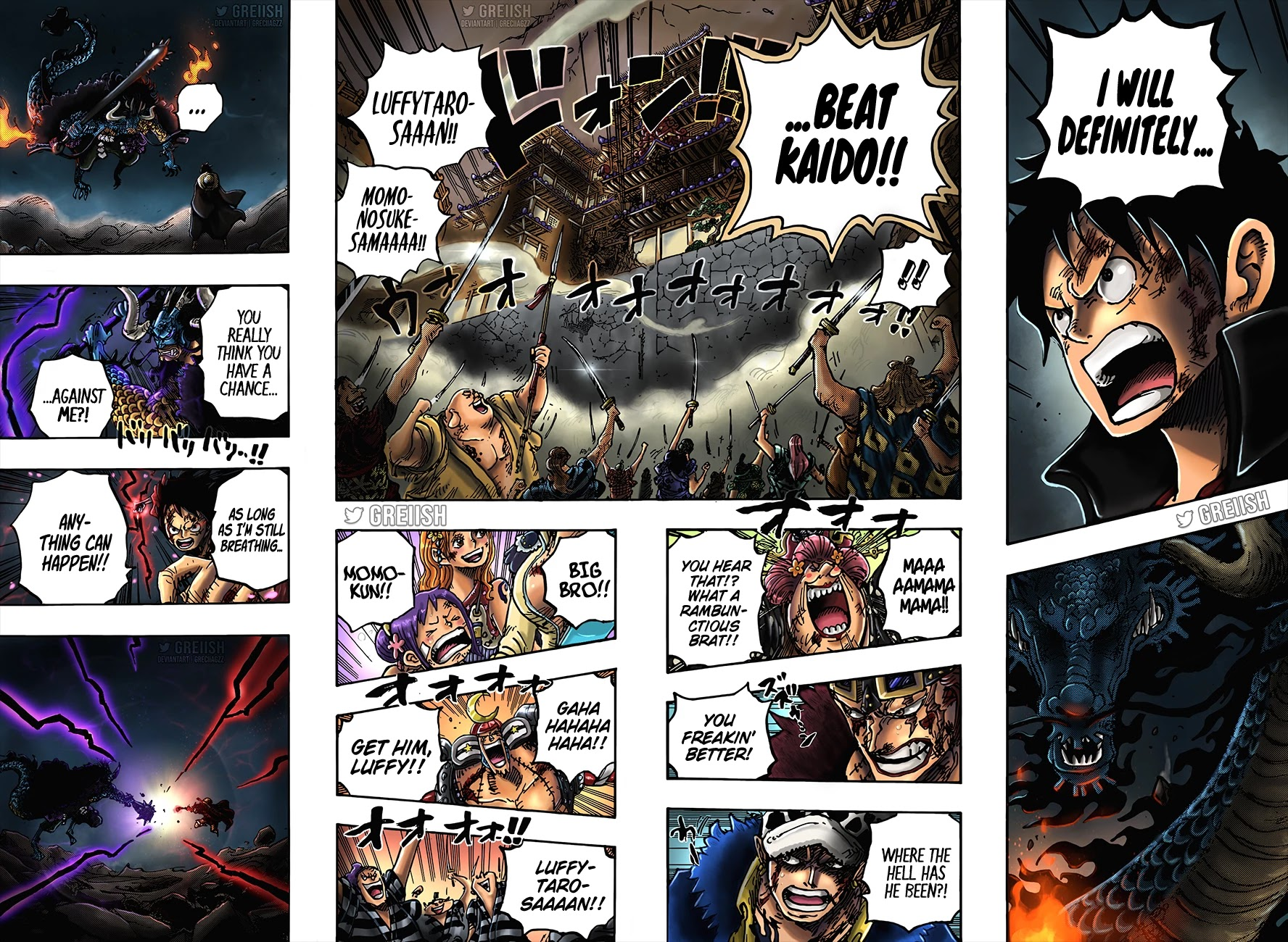 One Piece, Chapter 1026 Tennozan Turning Point image 18