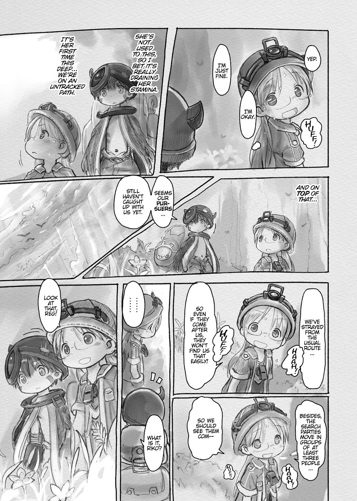 Made In Abyss, Chapter Hello,Abyss 9 image 021