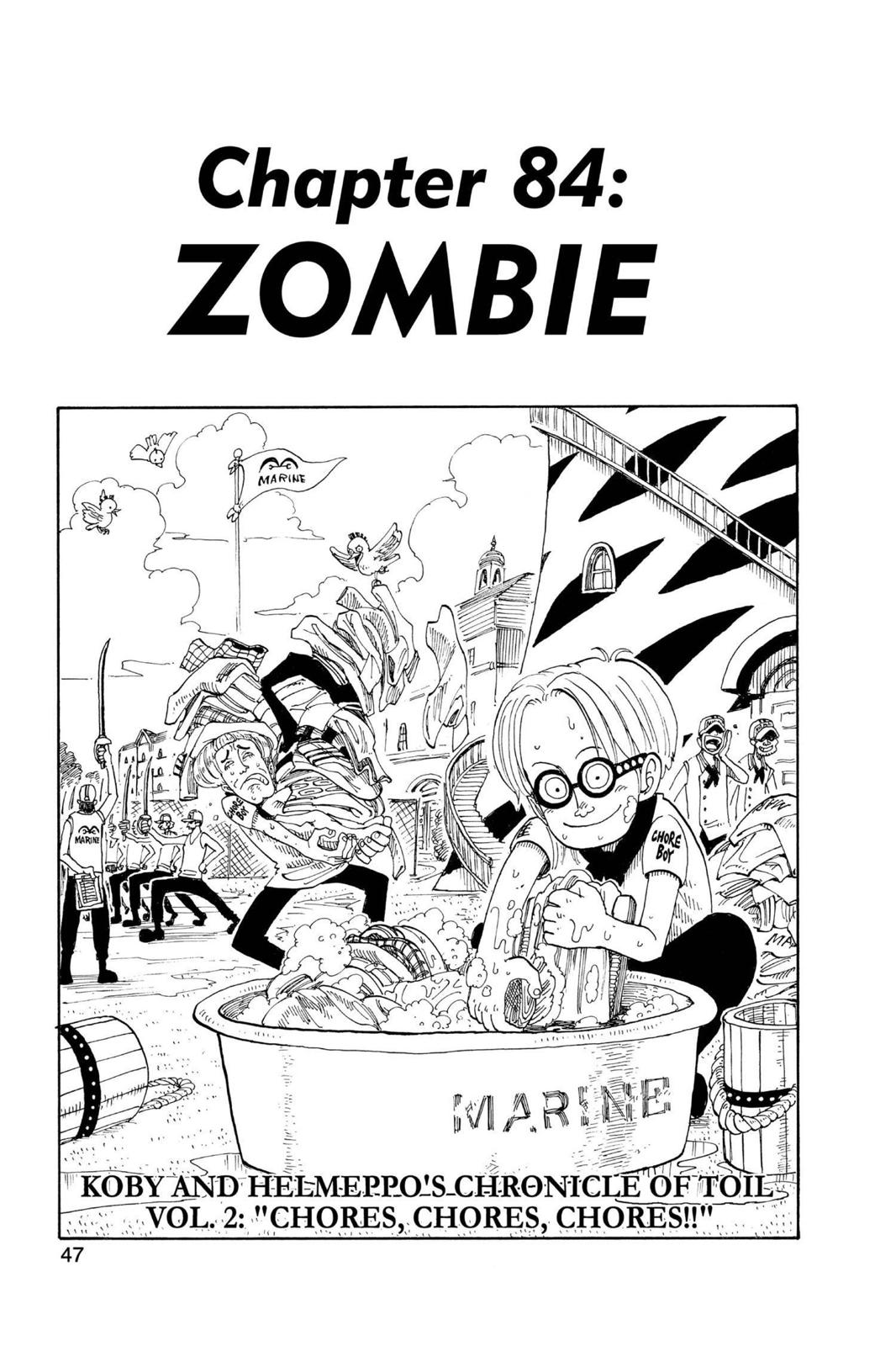 One Piece, Chapter 84 image 001