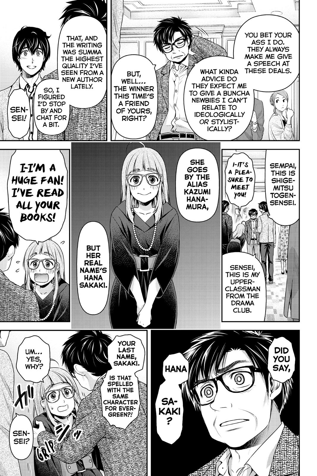 Domestic Na Kanojo, Chapter 209 image 016