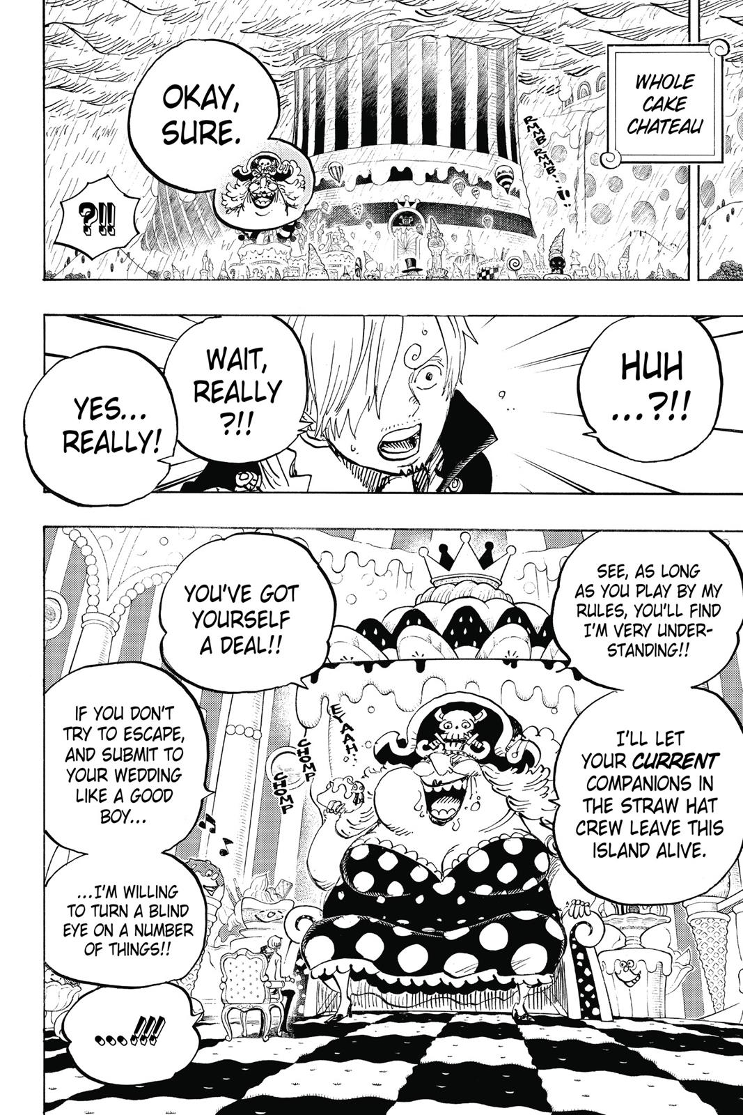 One Piece, Chapter 846 image 010