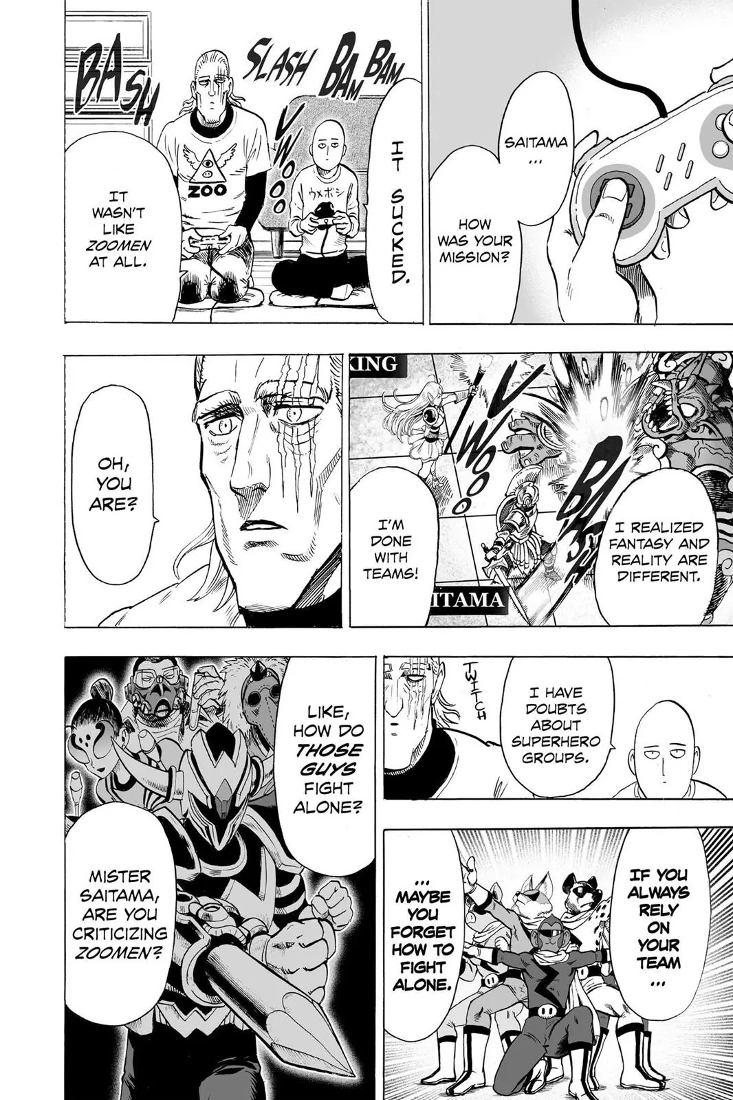 One Punch Man, Chapter Onepunch-Man 61.5 image 029