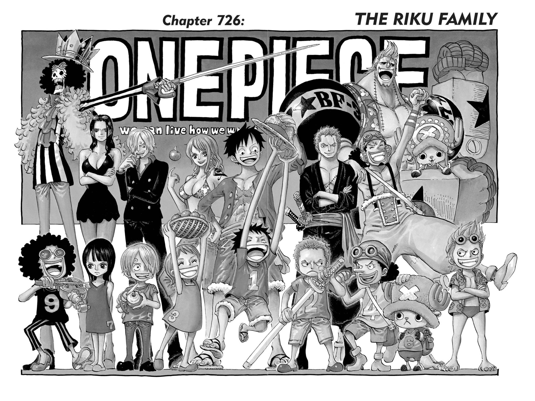One Piece, Chapter 726 image 001