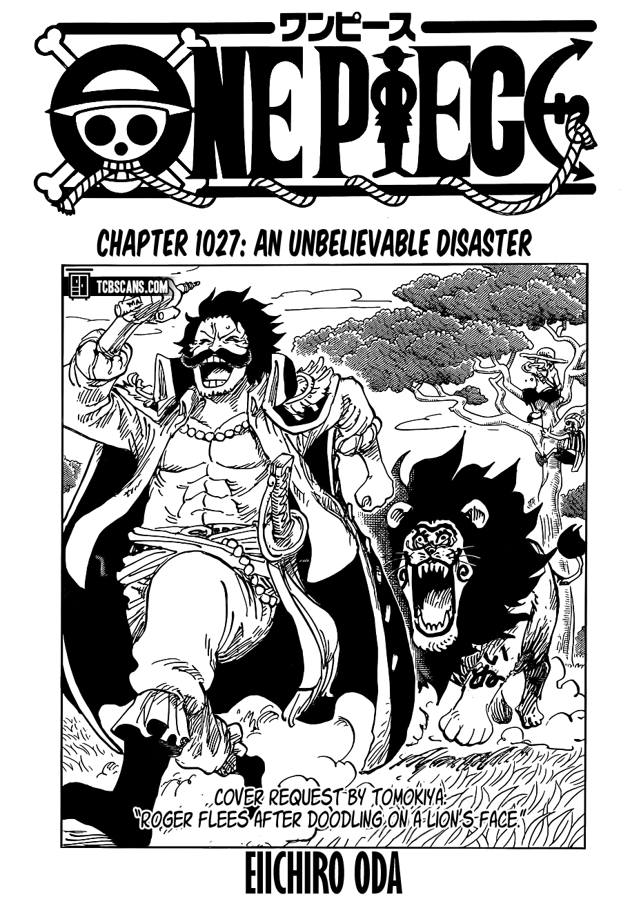 One Piece, Chapter 1027 image 01
