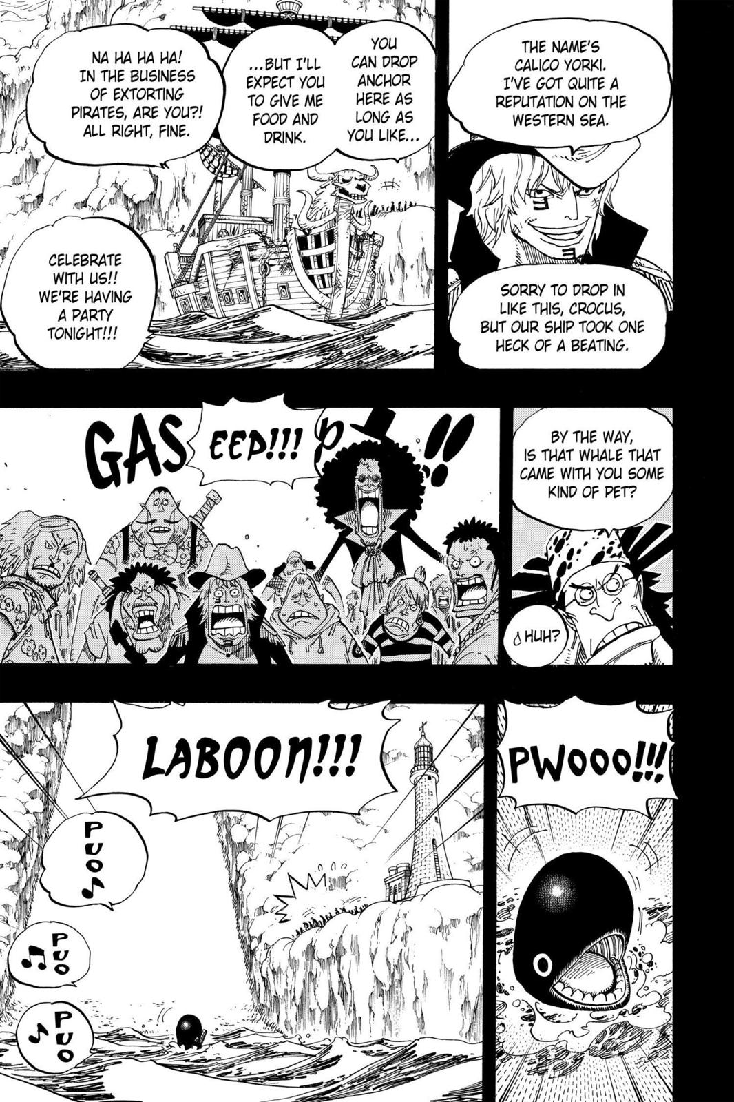One Piece, Chapter 487 image 009