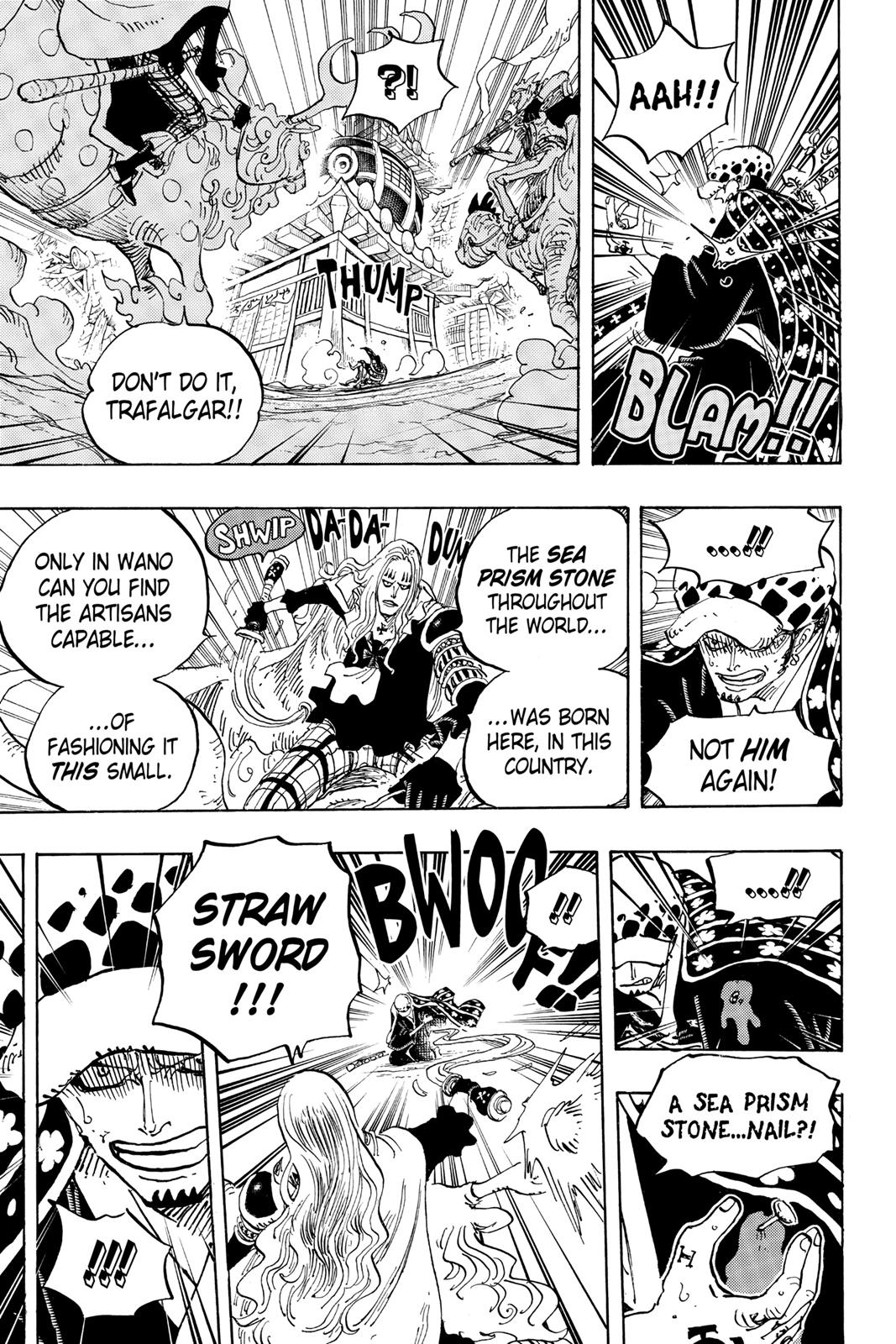 One Piece, Chapter 924 image 003