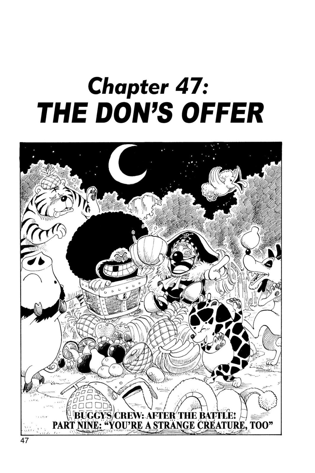 One Piece, Chapter 47 image 001