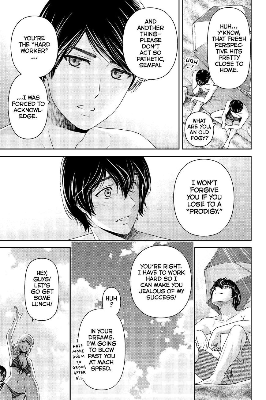 Domestic Girlfriend, Chapter 177 Trying to Change image 009