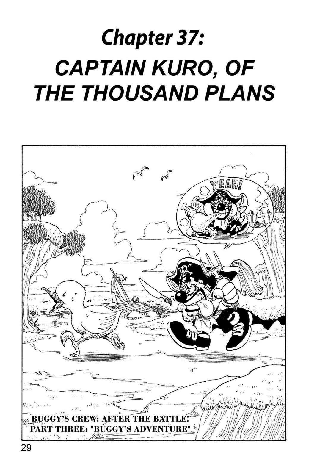 One Piece, Chapter 37 image 001