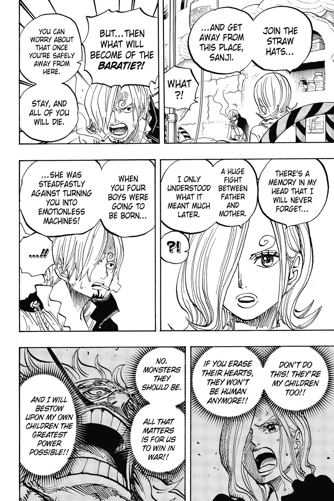 One Piece, Chapter 852 image 010