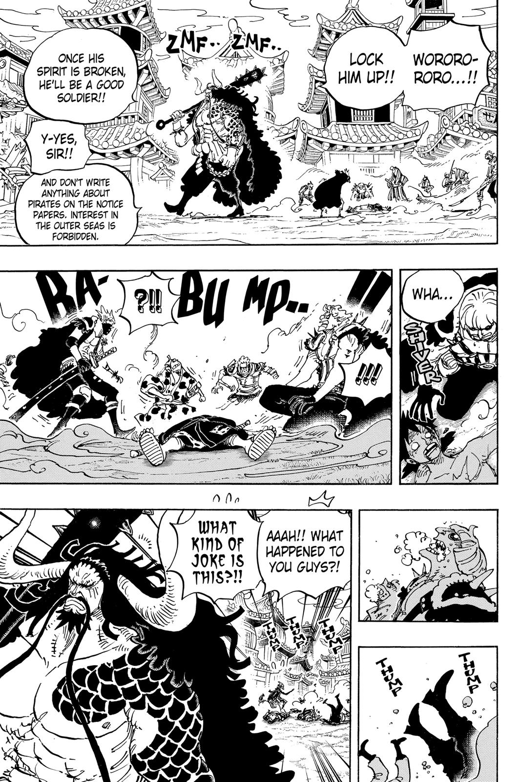 One Piece, Chapter 924 image 005