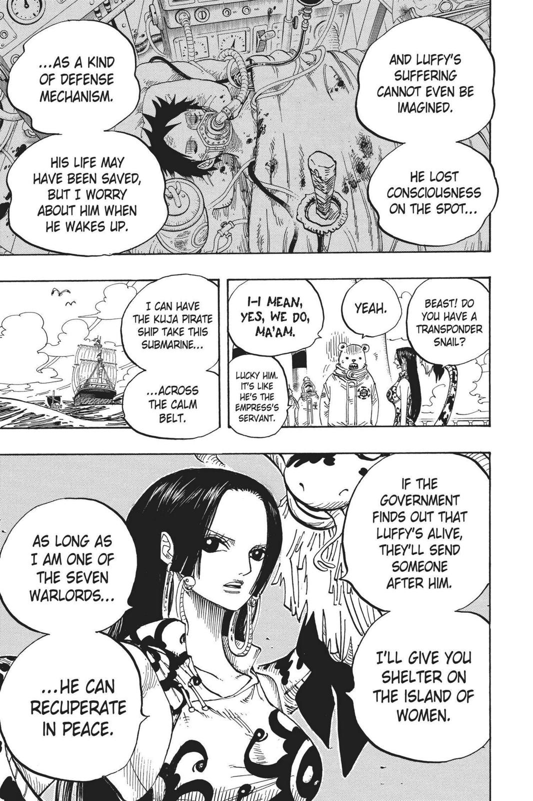 One Piece, Chapter 581 image 013